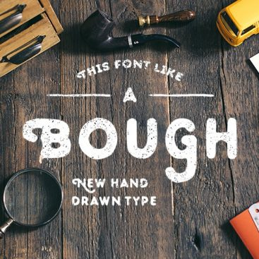 Bough A Hand Drawn Typeface Free Download