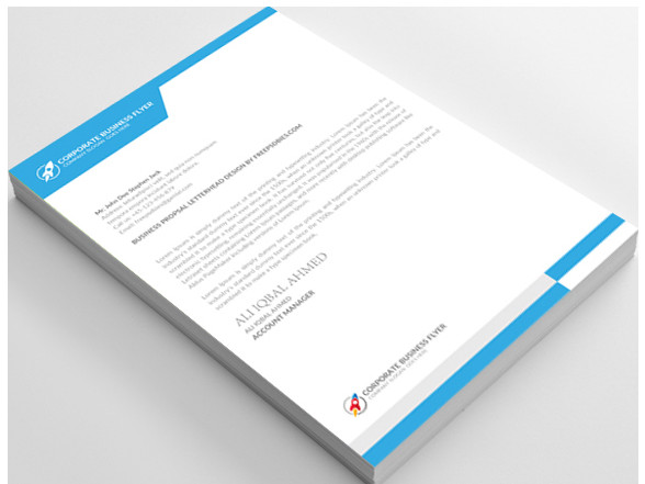 12 free letterhead templates in psd ms word and pdf format