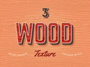 Free Retro Style Vector Wood Textures