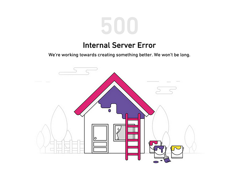 404 Error Page Illustration