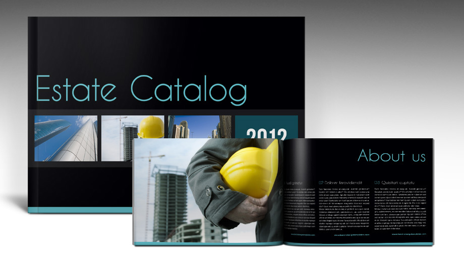 Estate Brochure Template InDesign
