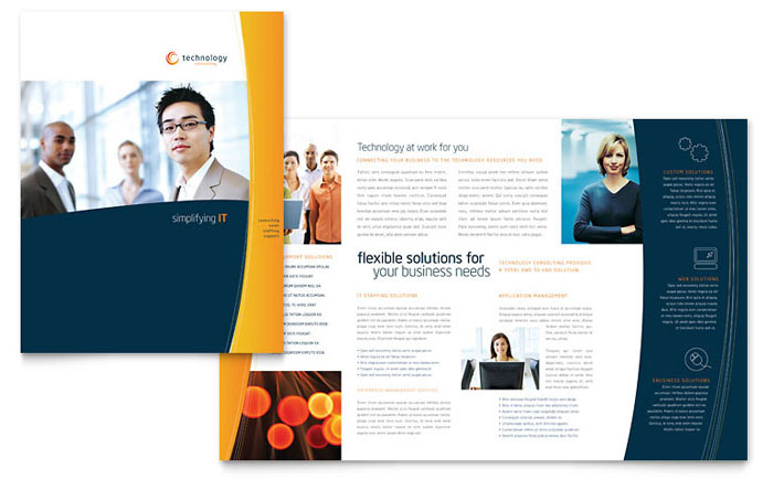Free Brochure Template For Corporates