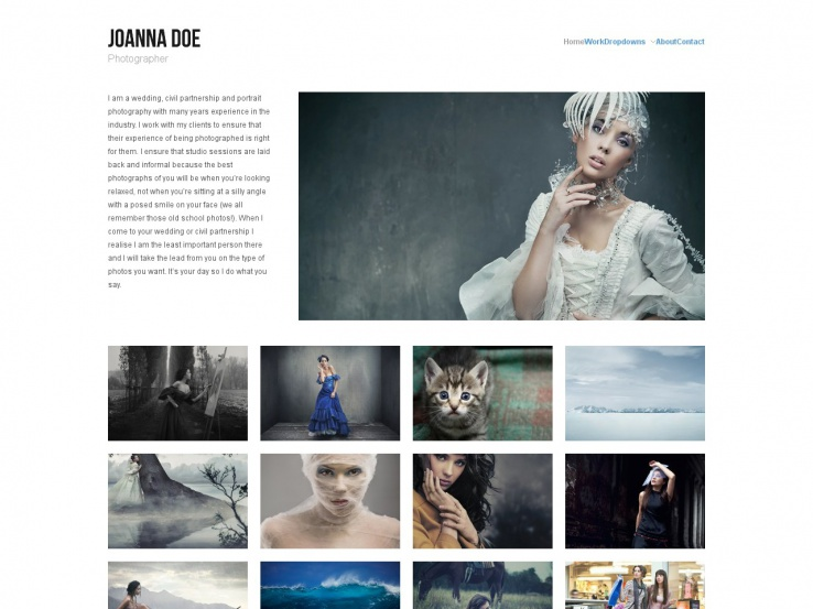 Hatch WordPress Portfolio Theme