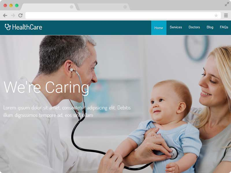 Medical Hospital Responsive HTML5 Templates with Bootstrap