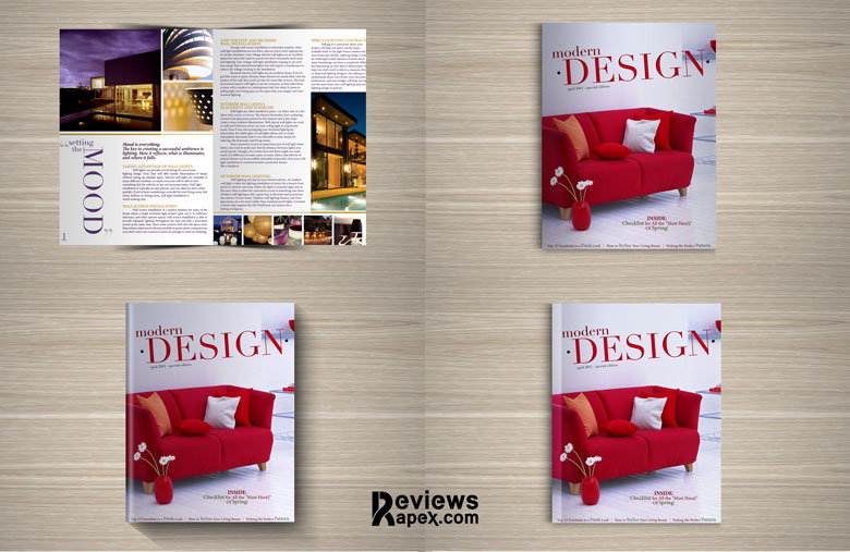 Mock up Design for Fabulous Magazine
