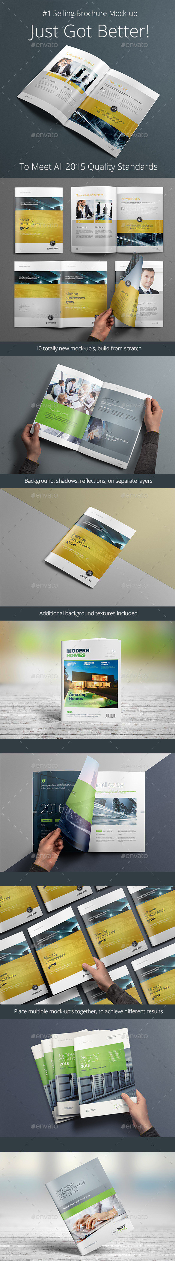 12 Free Brochure Mockup Psd Download Psd Templates Blog