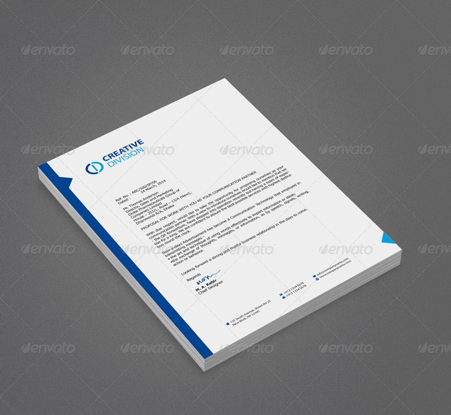 Corporate Psd Letterhead Template Psd File: 12+ Free Letterhead Templates In PSD MS Word And PDF