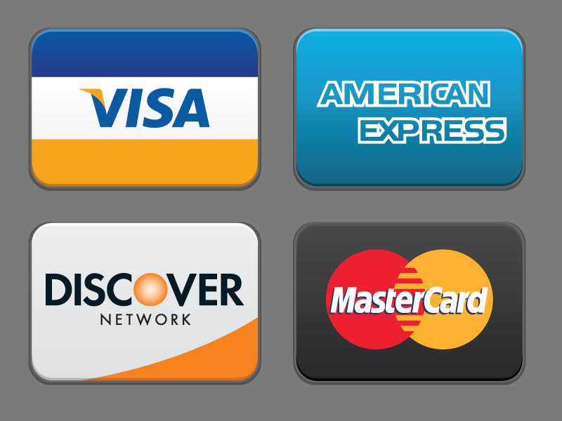 Credit Cards Icons SVG