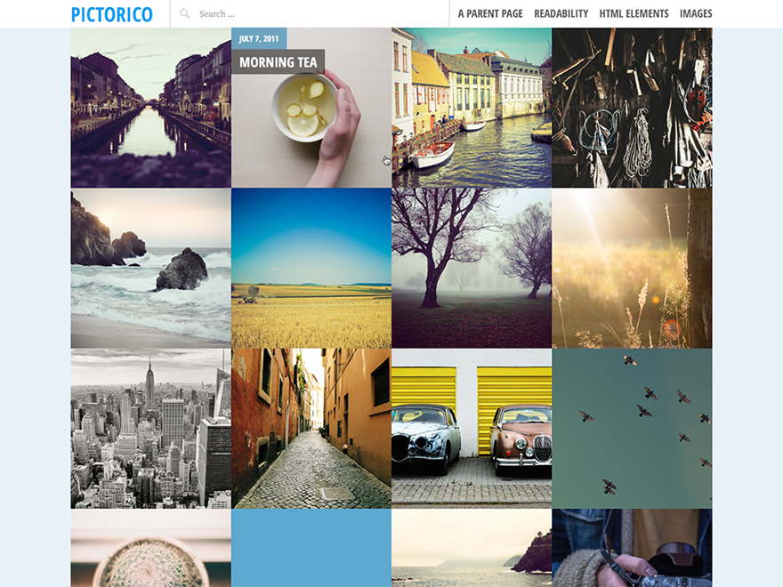Pictorico WordPress Photography Theme