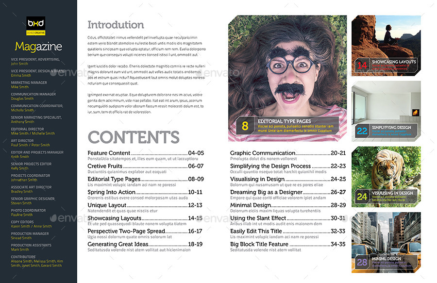 55 best magazine templates photoshop psd indesign download