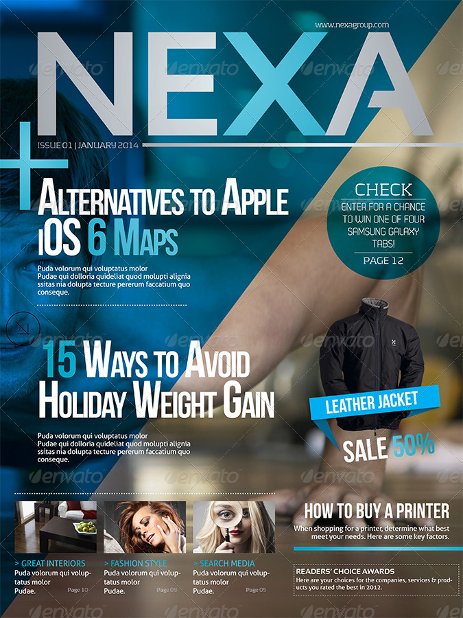Nexa iPad Magazine