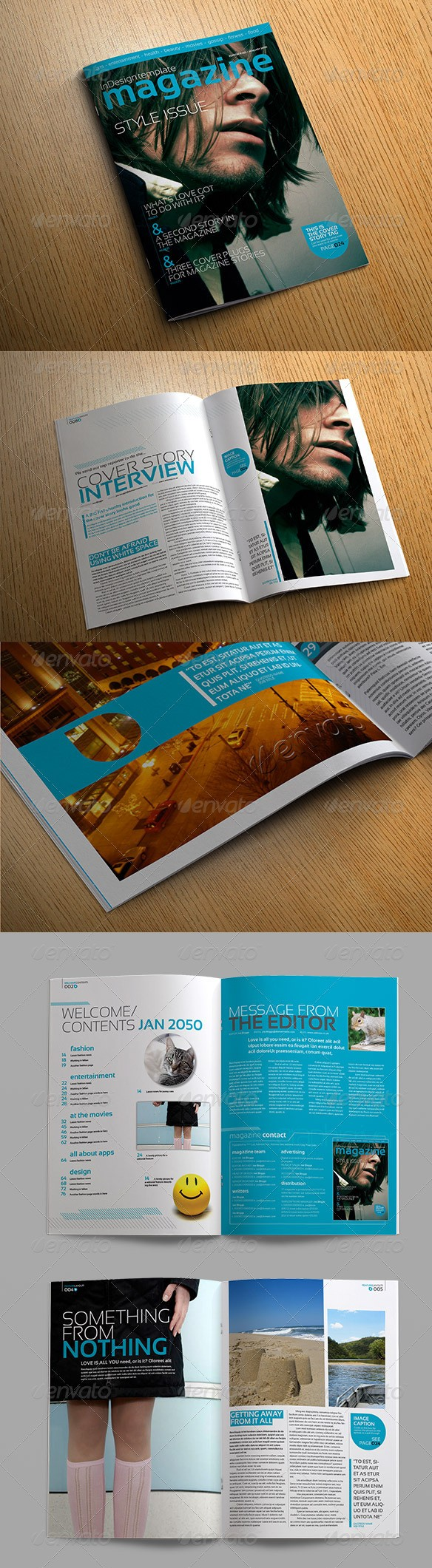 55  best magazine templates