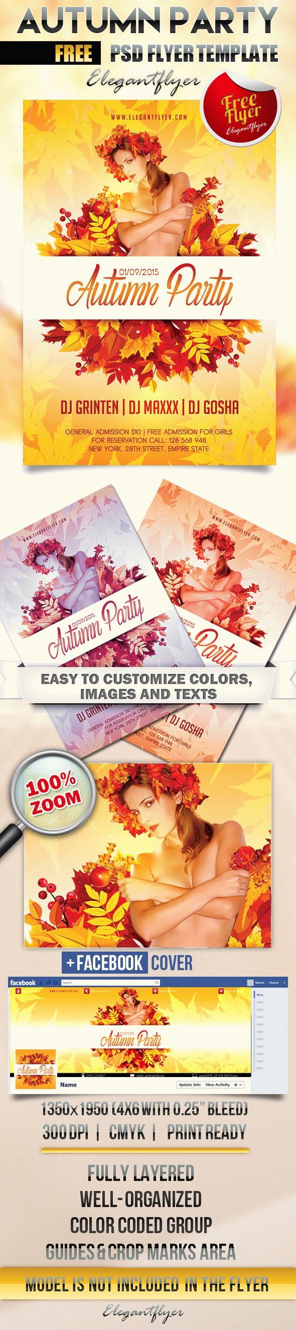 Free Flyer Template Downloads from www.psdtemplatesblog.com