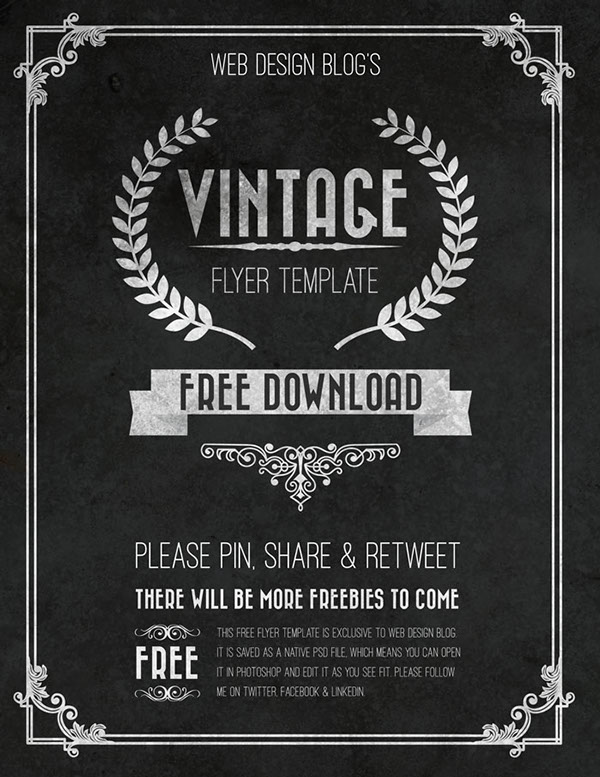 50 free flyer templates photoshop psd download psdtemplatesblog