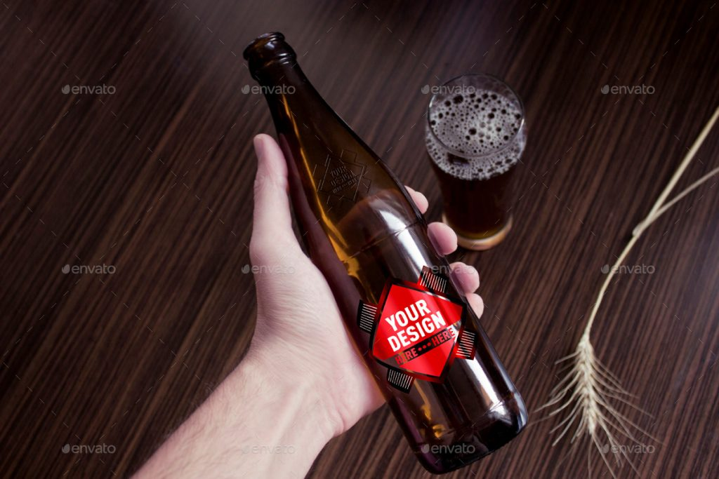 Grapulo's Beer Bottle Mockup