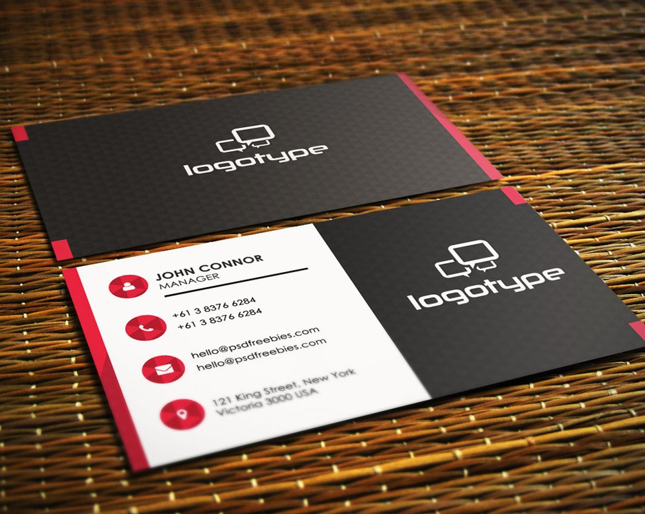Free Corporate Business Card PSD Vol-1