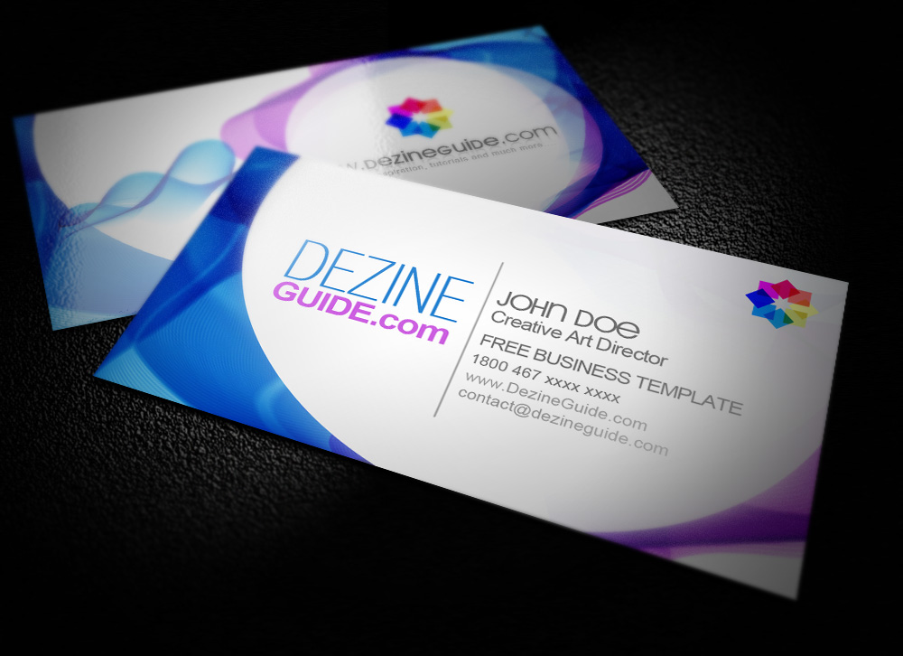 41  high quality business card templates psd