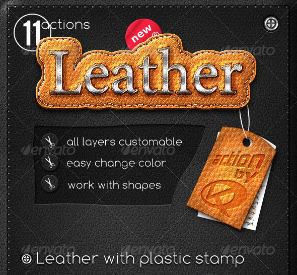 Leather Stripe Actions