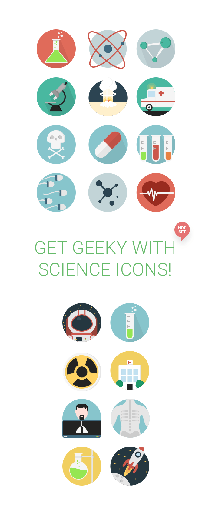 20 science icons