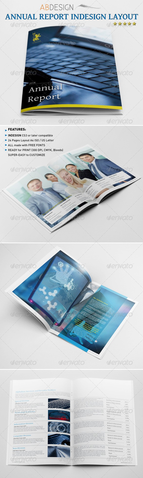 Annual Report Indesign Layout