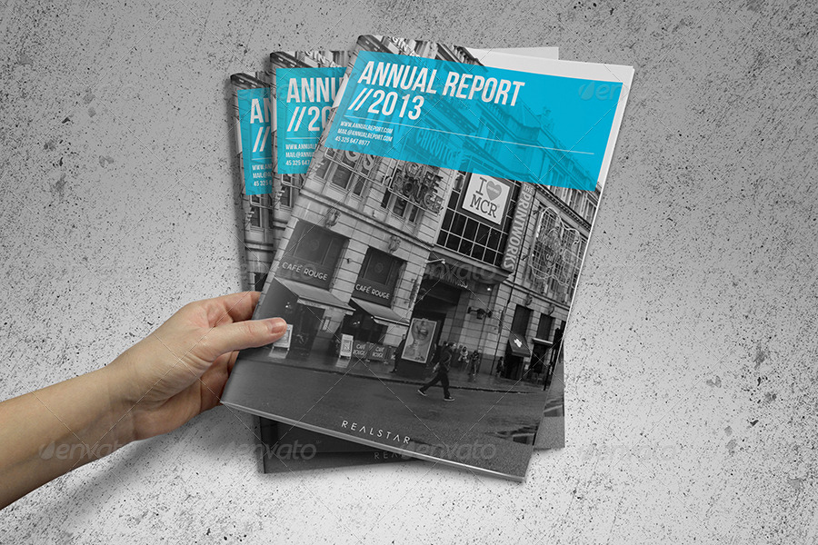 32 Indesign Annual Report Templates For Corporate