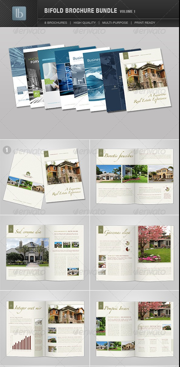 Bi-Fold Brochure Bundle - Volume 1