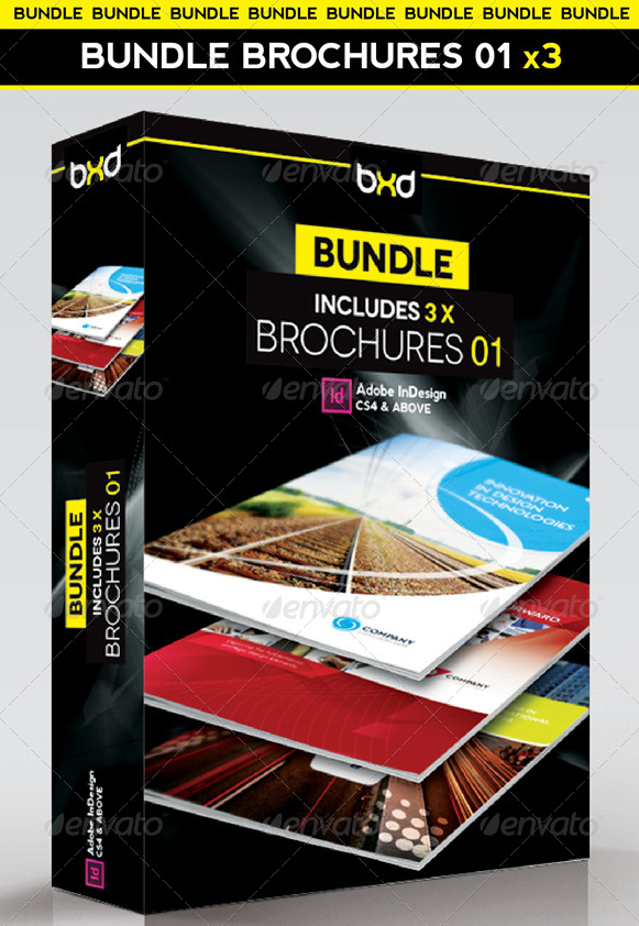 Brochures Bundle - InDesign Layout