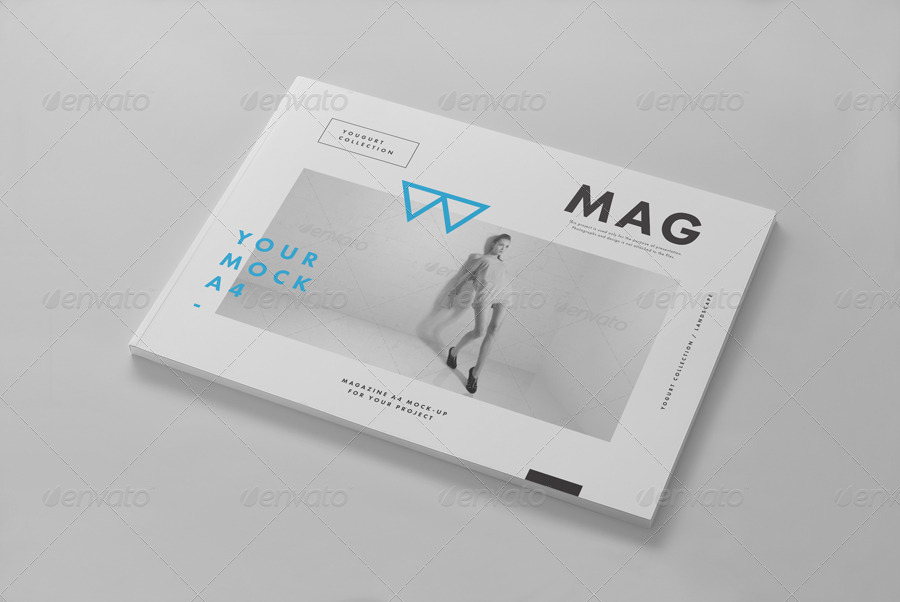 Horizontal Magazine Mock-up II