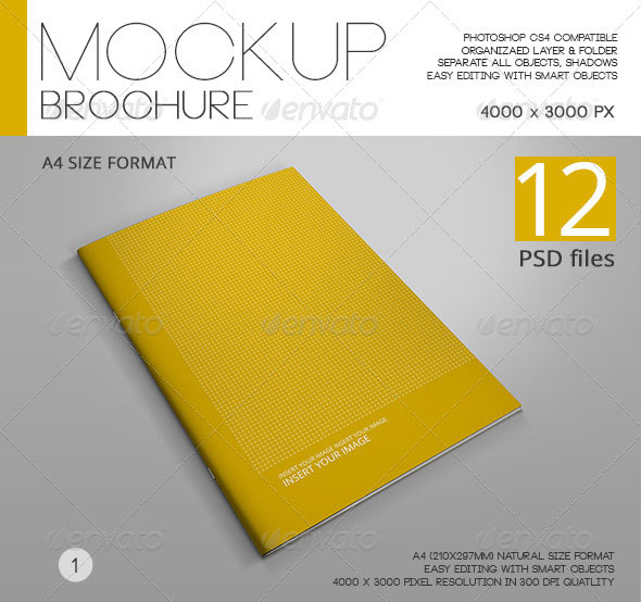 Mock-up Brochure A4