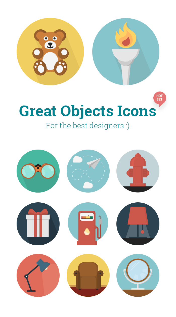 Objects Icons