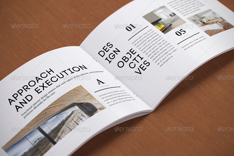 Photorealistic a5 Horizontal Magazine Mock-up