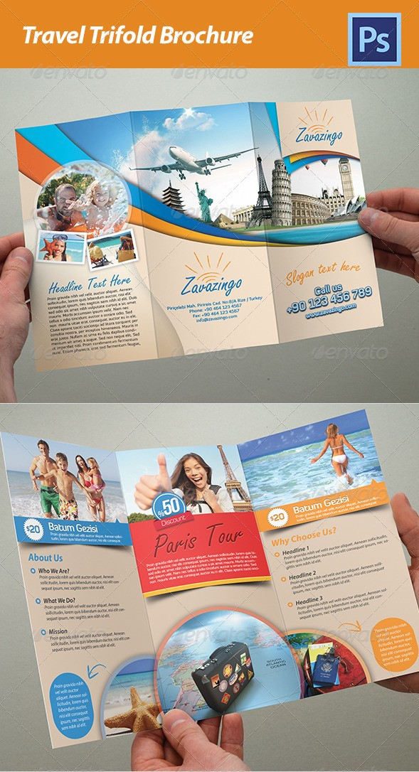 Travel Tri-Fold Brochure