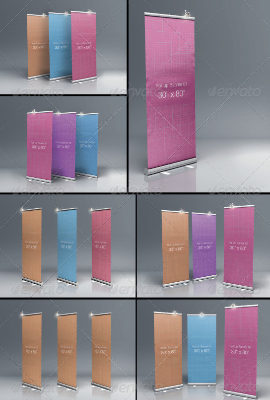 MyRoll Up Banner Mock-up