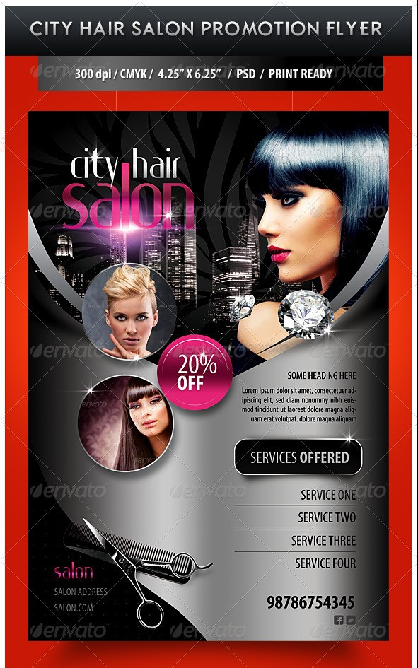 Beauty Salon Banner Psd Diy Craft