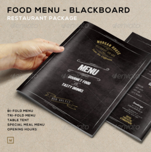 FoodMenu BlackBoardRestaurantPackage