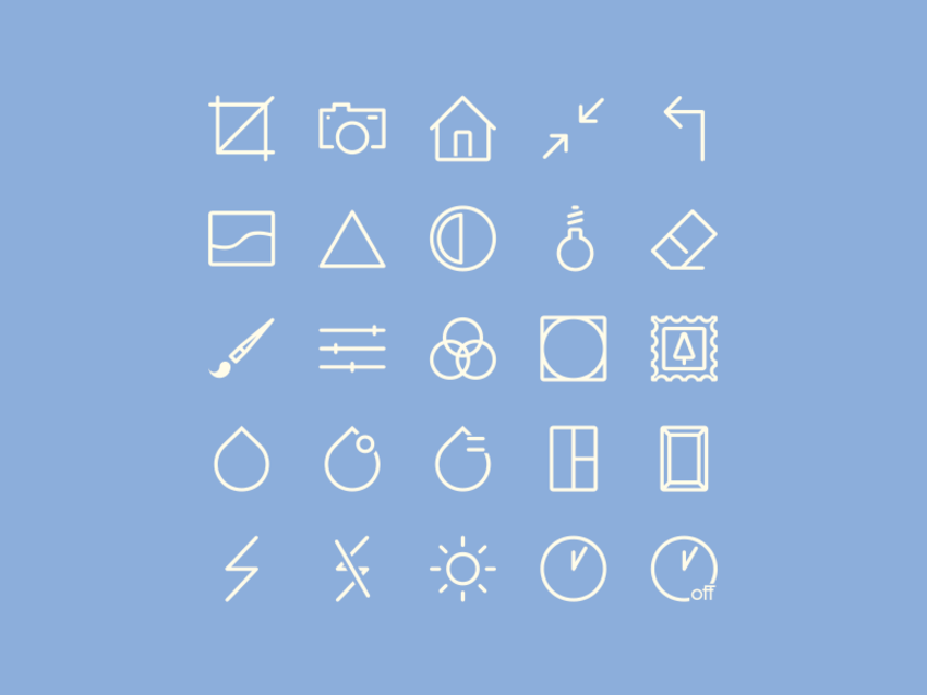 Free PSD & AI Image Editing Icons Set