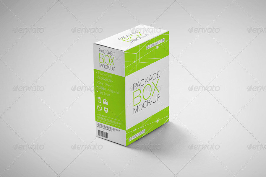 Package Box Mockup