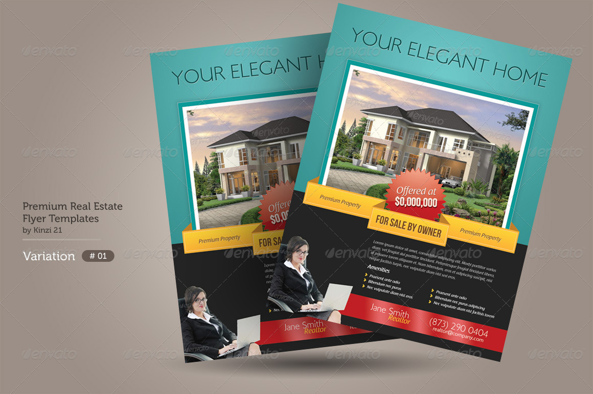 Premium Real Estate Flyers