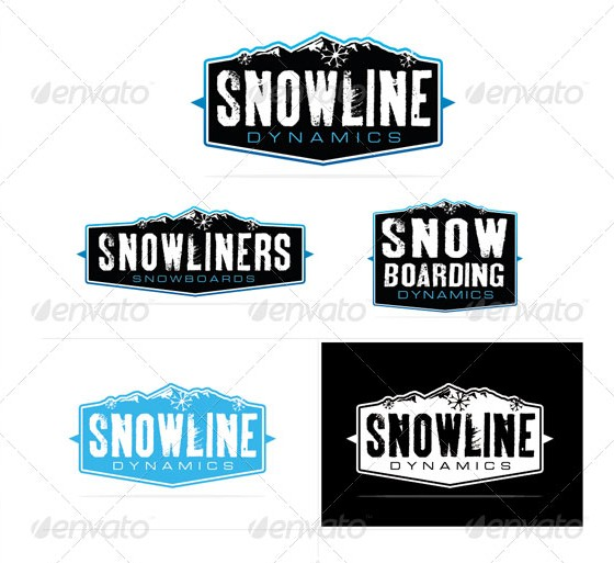 Snow Dynamics Logo Template