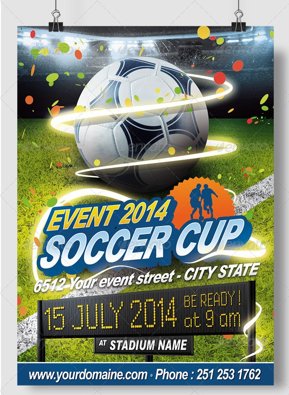 Soccer All Events Flyer