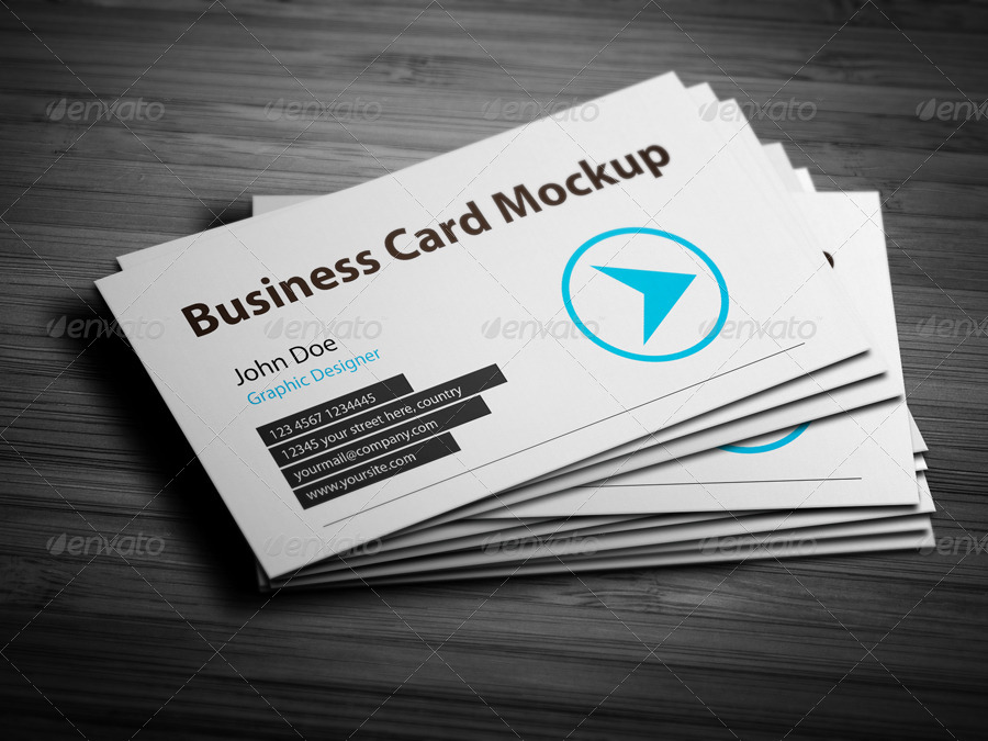 Business Card Mockup 2