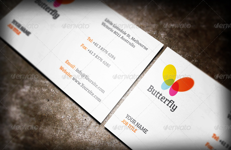 Business Card Mockup vol.4