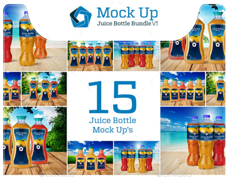 Juice Bottle Bundle V.1