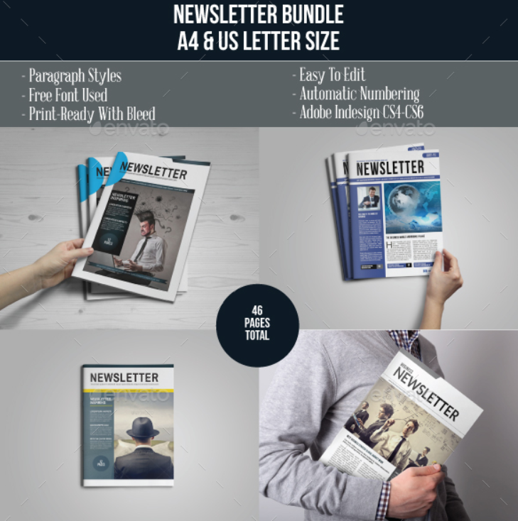 Multipurpose Newsletter Bundle Vol. 1