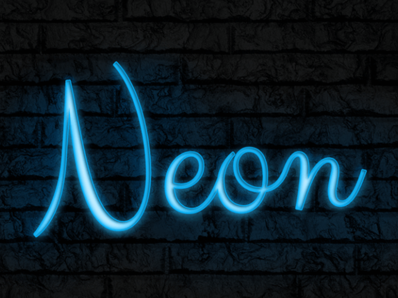 Neon Text Effect