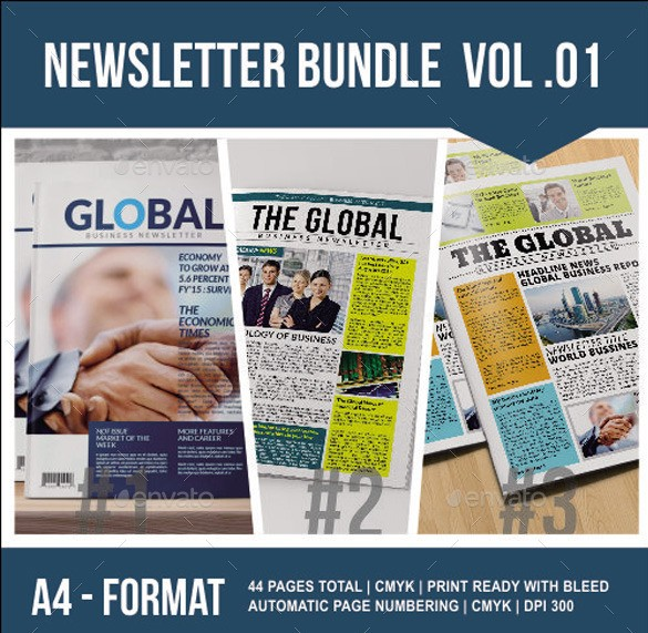 Newsletter Bundle Vol. 01
