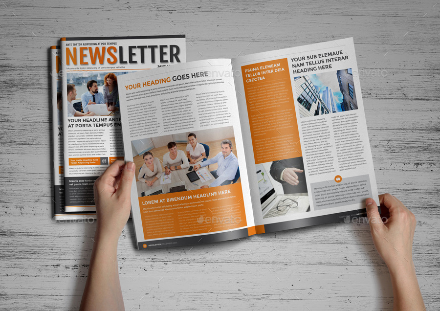 Newsletter Template v2 - InDesign
