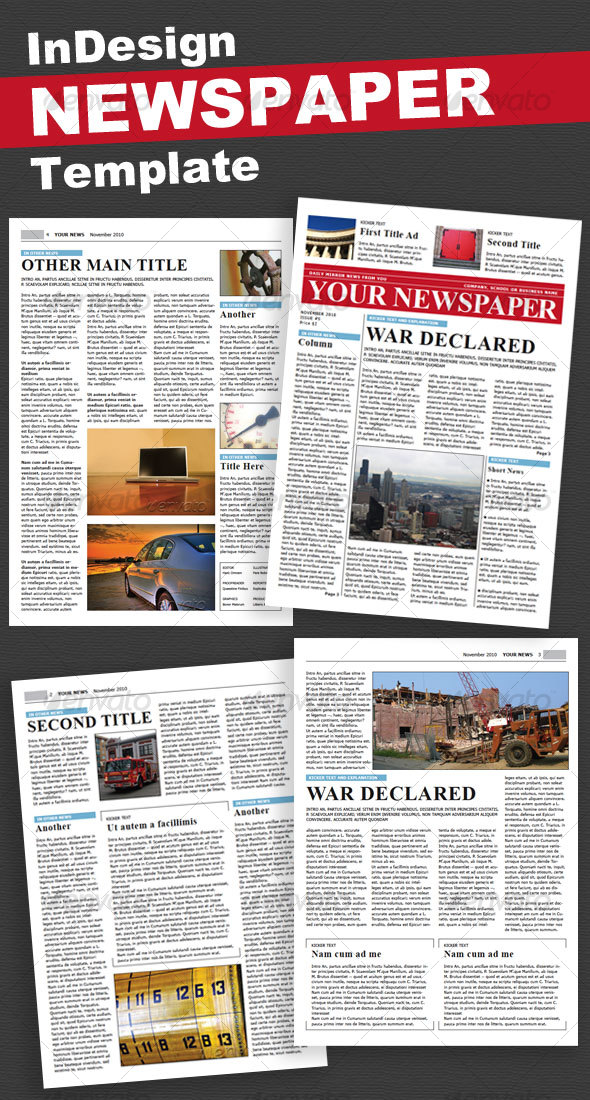 Newspaper 4 Pages
