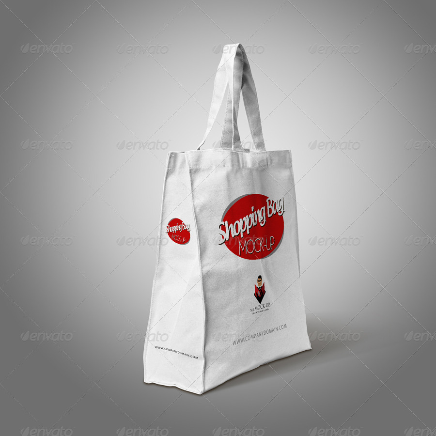 Paper & Cotton Shopping Bag Mockup