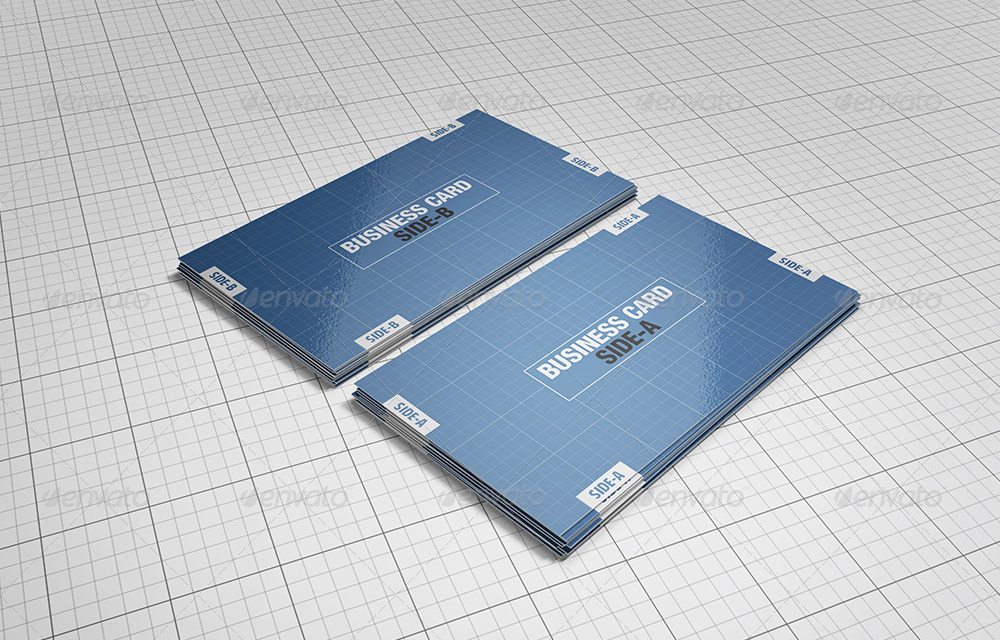Premium Business Cards Mockups